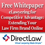 eLawyering for Competitive Advantage: Extending Your Law Firm Brand Online