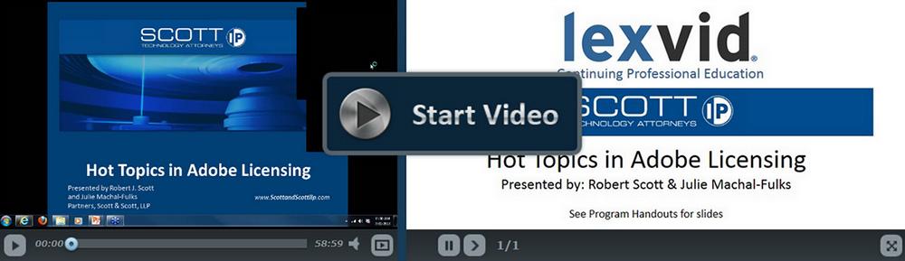 Hot Topics in Adobe Licensing