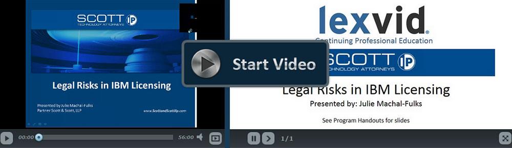 Legal Risks of IBM Licensing