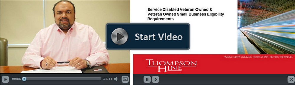 Service Disabled Veteran Owned & Veteran Owned Small Business Eligibility Requirements