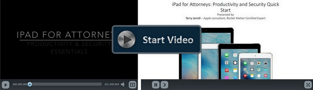 iPad for Attorneys: Productivity & Security Essentials