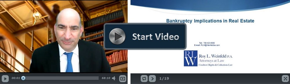 Bankruptcy Implications in Real Estate & The Commercial Letter of Intent